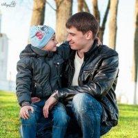 Рома с сынулей :: photographer Anna Voron