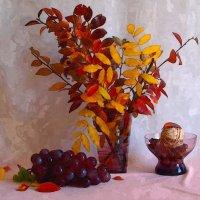 Красные листья... :: анна нестерова