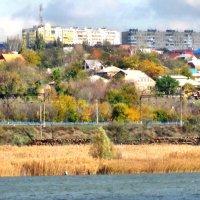 Пейзаж с железной дорогой на берегу Дона... :: Тамара (st.tamara)