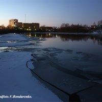 Вечер над Ухтой :: Виктор Бондаренко
