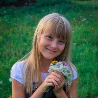 Маргарита и её букет :: Олеся Чорнявская