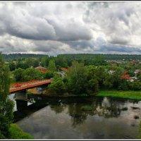 мост через Рузу :: Дмитрий Анцыферов