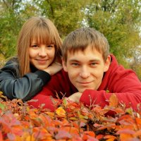Аня и Андрей :: Юлия Ерикалова