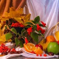 Осенние мотивы. :: Милена )))