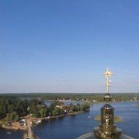 Вид с колокольни на Селигер :: Марина Мамзина (Калета)