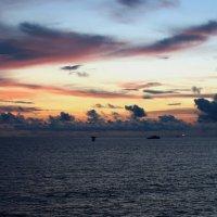 Небо Гвинейского залива :: Alex Sokolov