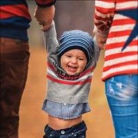 Лучший способ сделать ребёнка хорошим – это сделать его счастливым :) :: Алексей Латыш