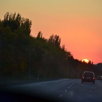 Закат. :: Михаил Болдырев