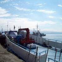 В порту Листвянка :: alemigun