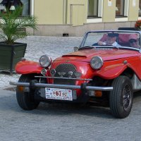 Ретро автомобиль Panther Lima Roadster :: Евгений Кривошеев