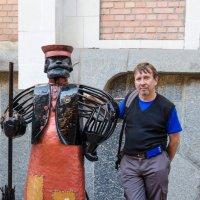 С дворником на Дворцовой :: Тарас Леонидов
