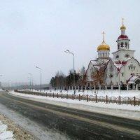 начало зимы(Сургут) :: Олег Петрушов