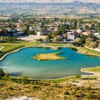 Озеро с минеральной водой. Турция :: Александр Лядов