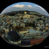 Иерусалим с высоты птичьего полёта2 :: Shmual Hava Retro