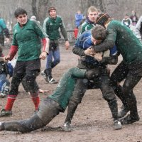 В регби играют при любой погоде :: Вячеслав