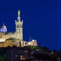 Notre Dame De La Garde la nuit :: Александр Димитров