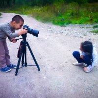 Мой сын что видит то и делает )) :: Мисак Каладжян