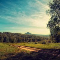 Летний пейзаж :: Виталий Нагиев