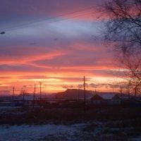 Закат над Учумом :: Дарья Паркина