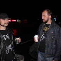 Беседа друзей, за кофе :: Сергей Касимов