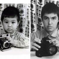 Люди не меняются, 1982 год и сегодня. :: Владислав Мухин