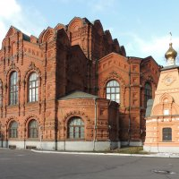 Церковь Спаса Всемилостивого быв. Скорбященского монастыря. :: Александр Качалин