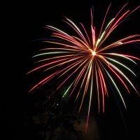 Фейерверк на день города :: Canon PowerShot SX510 HS