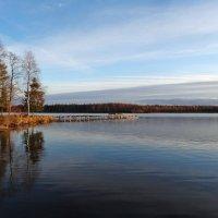 Вечер на Даниковском озере :: Валерий Талашов