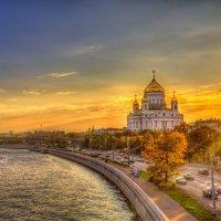 Московский закат :: Александр Новиков