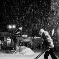...осенний снегопад :: Сергей Андрейчук