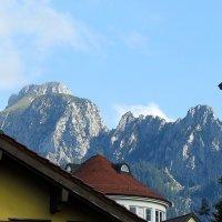 над крышами Альпы :: Сергей Цветков