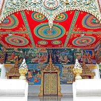 Лаос. Вьентьян. Вход в храм :: Владимир Шибинский