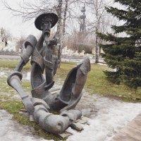 Дон Кихот, упавший с мельницы. :: Владимир Болдырев