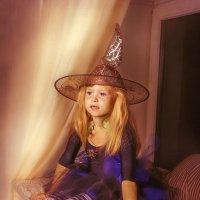 Юная ведьмочка! :: Марина Казнина