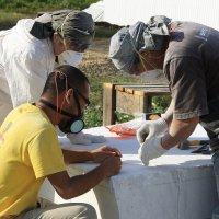 Работа  скульпторов  по  мрамору... :: Валерия  Полещикова