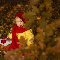 Осенний художник :: Алёна Кин