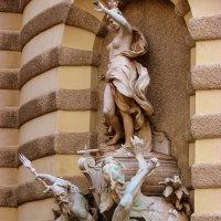 Скульптура,Хофбург (Hofburg) :: Georg Förderer