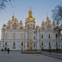 Uspenskyi Cathedral in Kiev Lavra :: Roman Ilnytskyi