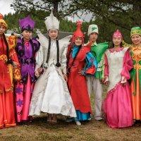 Праздничные костюмы артистов :: Виктор Ковчин