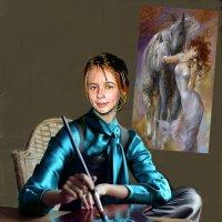 Юная художница :: Юрий Хайкин