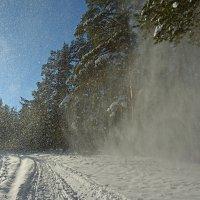 Снежный вихрь :: vladimir Bormotov