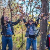 Осенние этюды одной маленькой семьи. :: Gene Brumer