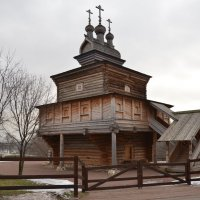 Церковь Георгия-победоносца в Коломенском. :: Владимир Болдырев