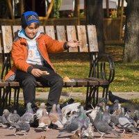 Мальчик и голуби :: Ольга Винницкая
