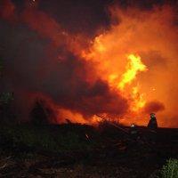 Пожар на ЦБЗ. :: Дмитрий Иншин