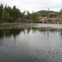 Горное озеро :: Александр