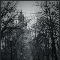 Яузский бульвар... октябрь :: Наталья Rosenwasser