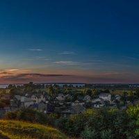 переславль залесский вид на плещеево озеро. закат. :: юрий макаров