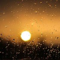 Свидание Дождя с Солнцем :: Oksana Sansnom