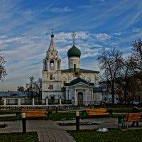 Церковь Дмитрия Солунского. :: Михаил MAN